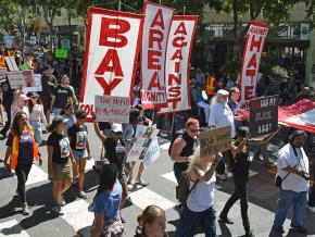 Thousands turned out in Berkeley, California, to counter the far right