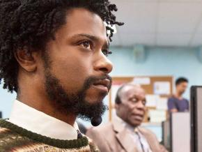 LaKeith Stanfield as Cash, with Danny Glover, in Boots Riley's Sorry to Bother You