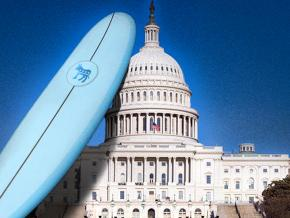 Riding the blue wave