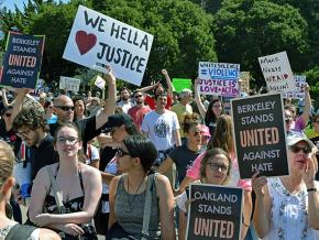 The Bay Area Rally Against Hate turned out thousands
