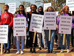 Women organize against sexism and gender-based violence in South Africa