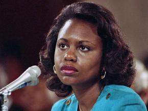 Anita Hill testifies to the Senate Judiciary Committee
