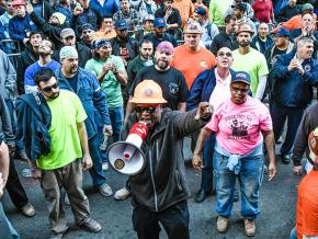 Construction workers in Manhattan demand dignity on the job