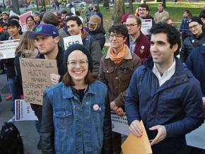 Harvard graduate workers demand union recognition