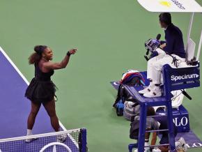 Serena Williams at the 2018 U.S. Open