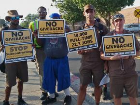 Rank-and-file Teamsters organize against a bad contract with UPS