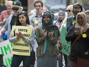 Protesters stand up to Islamophobia in Minneapolis