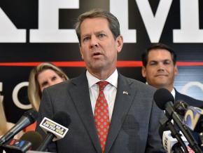 Georgia Republican Brian Kemp