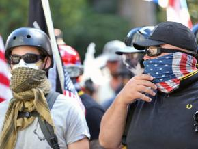 The far-right spews its hate on the streets of Portland, Oregon