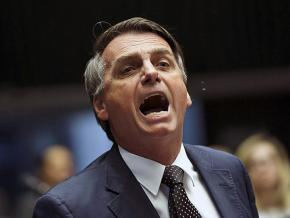 Brazilian far-right presidential candidate Jair Bolsonaro