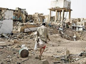 Devastation and destruction in Yemen's Saada province