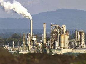 The Andeavor Anacortes Refinery north of Seattle