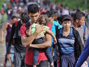 Refugees and asylum seekers on the journey north