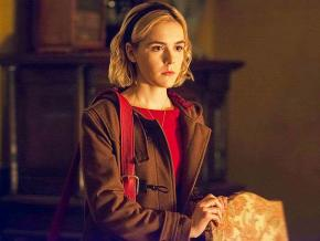 Kiernan Shipka as Sabrina Spellman in The Chilling Adventures of Sabrina