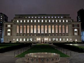 Butler Library at Columbia University in New York City