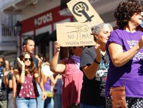 Puerto Rican activists march against sexual violence