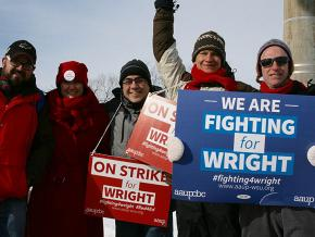 Striking faculty build solidarity at Wright State University