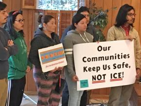 Activists mobilize against ICE terror in North Carolina