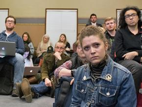 Students and faculty organize against budget cuts at the University of Vermont